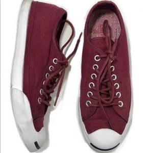 quality design eef60 e5540 Converse Shoes - Burgundy maroon wine jack Purcell sneakers